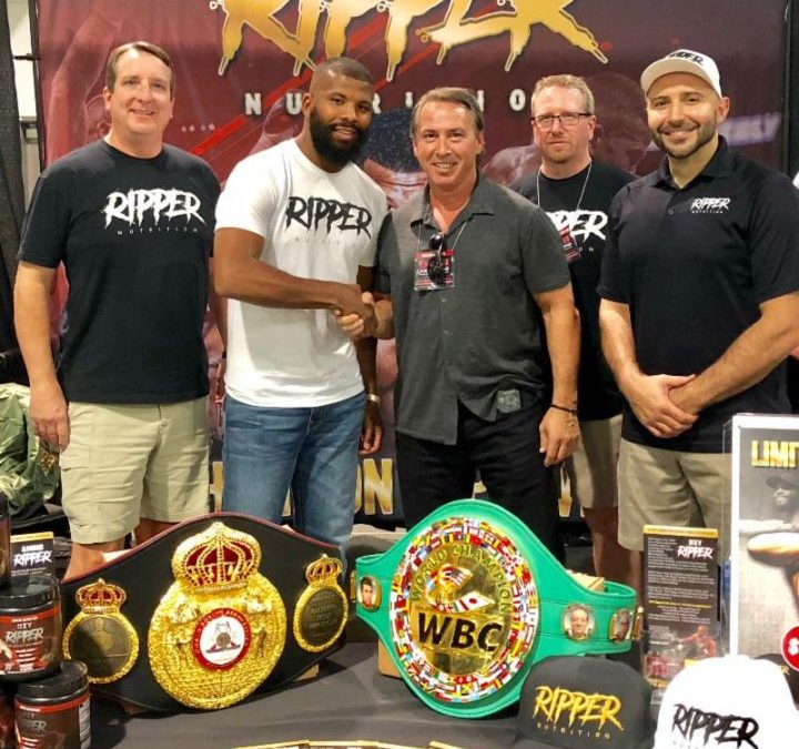 Badou Jack's Ripper Nutrition is Expanding Out To Asian Market